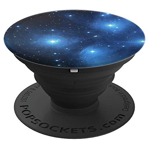 Pedestal Style Cluster - STAR CLUSTER BLACK BACKGROUND - PopSockets Grip and Stand for Phones and Tablets