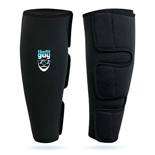 CrossFit Shin Guard Protection running Weightlifting football cycling gear 2pair