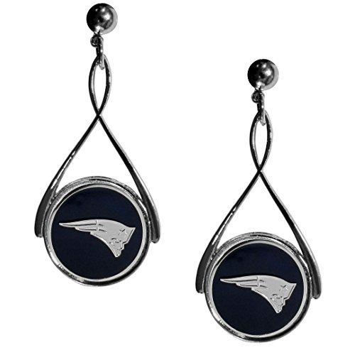 (Siskiyou New England Patriots Tear Drop Earrings)