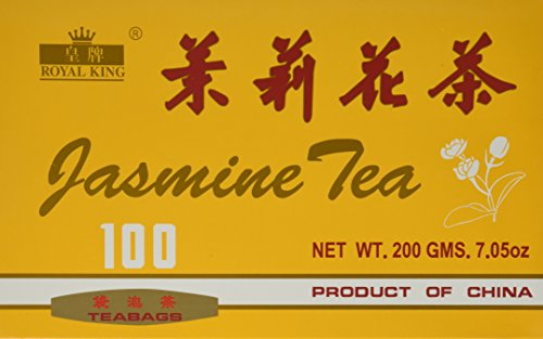 Royal King Jasmine Tea - 100 Tea Bags
