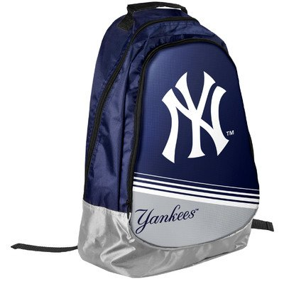 - Forever Collectibles MLB New York Yankees 2015 Stripe Core Backpack, Blue