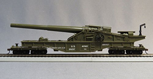 MRC MODEL POWER BIG THUNDER RAILWAY GUN CAR ho (Railroad Gun)
