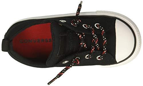 Red Converse Youth Ctas Canvas Street Slip Black Entrenadores white enamel Z8Zqrw7
