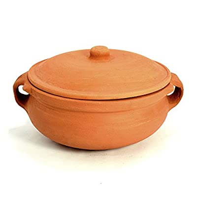 Clay Curry Pot - Extra Large - 10 Inch by Ancient Cookware