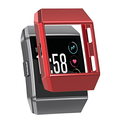 For Fitbit Ionic Case, SnowCinda Shock-proof and Shatter-resistant Rugged Protective Slim Shock Resistant TPU Bumpe for Fitbit Ionic Smart Fitness Watch