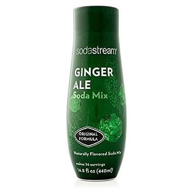 SodaStream Ginger Ale Syrup, 14.8 Fluid Ounce