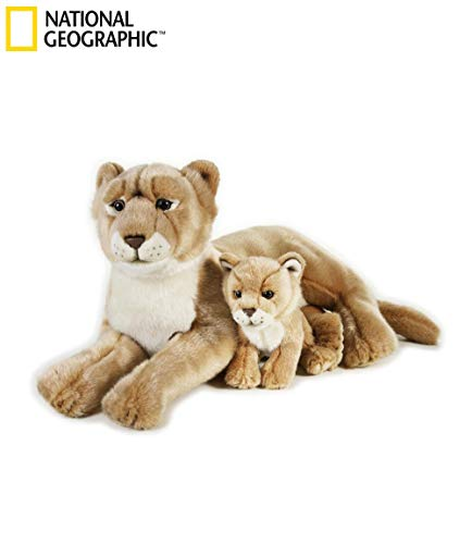 NATIONAL GEOGRAPHIC Lion with Baby Plush Set