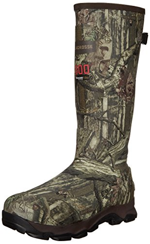 LaCrosse Men's 4Xburly 800G Hunting Boot,Mossy Oak Infinity,12 M US