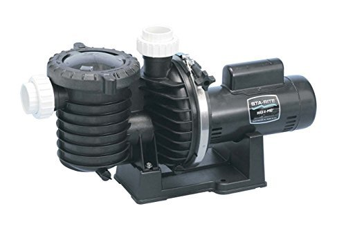 Pentair Sta-Rite P6RA6G-207L Max-E-Pro Standard Efficiency Single Speed Up Rated Pool and Spa Pump, 2 HP, 230-Volt
