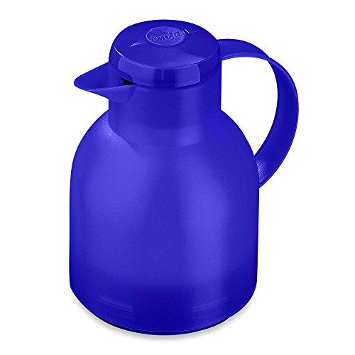 Frieling Samba Quick-Press 34-Ounce Beverage Server in Translucent Blue