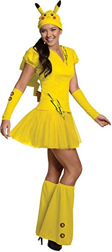 Rubie's Secret Wishes  Costume PokÃmon, Female Pikachu, Yellow, Large