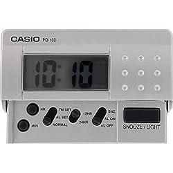Casio PQ-10D-8 Digital Traveller Alarm Clock
