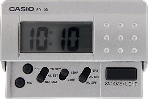 (Casio PQ-10D-8 Digital Traveller Alarm Clock)