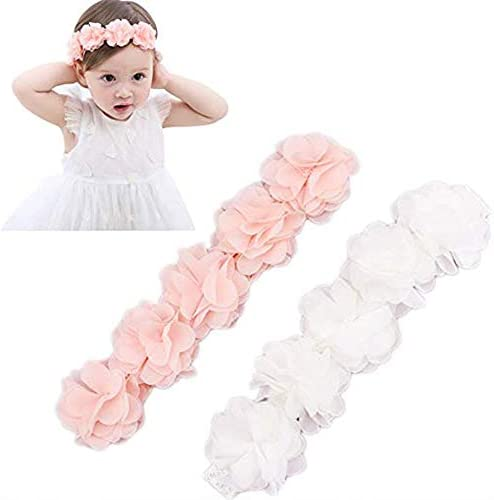 Elastic Chiffon Headbands Princess Headwear product image