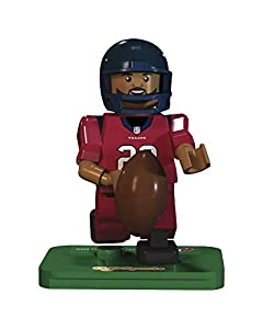 NFL GEN3 Houston Texans Arian Foster Limited Edition Minifigures, Blue, Small