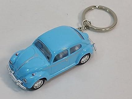 Amazon.com: Kinsmart Luz Azul Classic VW Volkswagen Beetle ...
