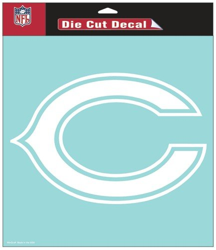 NFL Chicago Bears WCR25661014 Perfect Cut Decals, 8