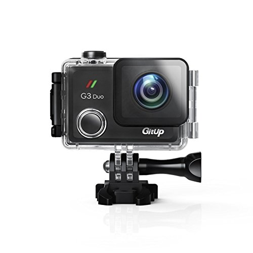 GitUp G3 Duo 2K Wi-Fi Touch Screen Action Camera Pro Pack With Main Camera Only GitUp