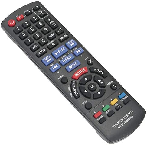 N2QAYB000966 Replacement Remote Control Applicable for Panasonic SC-BTT466 SC-BTT465 SC-BTT405 SA-BTT466 SA-BTT465 SA-BTT405 SCBTT466 SCBTT465 SCBTT405 Blu-ray Disc Home Theater Sound System 413xHHsBRgL