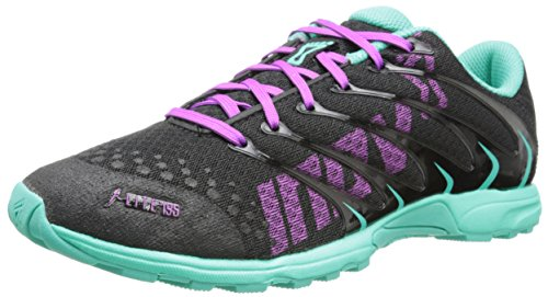 Inov-8 Donna F-lite 195 (p) Scarpa Cross-training Nera / Verde Acqua / Viola