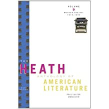 The Heath Anthology of American Literature: Modern Period (1910–1945), Volume D