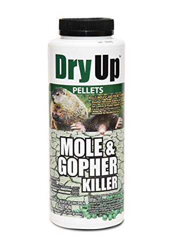Harris Dry Up Mole & Gopher Killer Pellets, 1lb