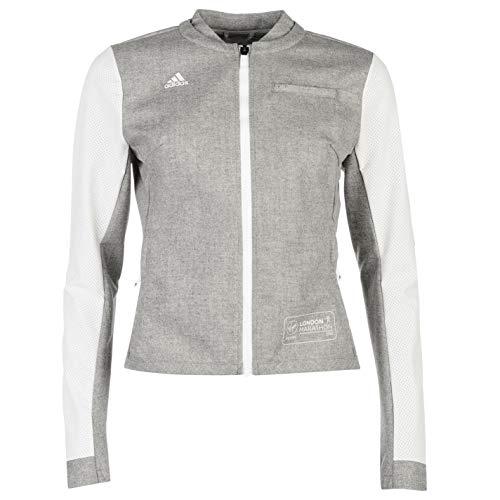 London nbsp;veste 2016 Femme Sport Pour Vêtements Track Marathon Course De À Pied Blanc Top Adida dtqwaZd