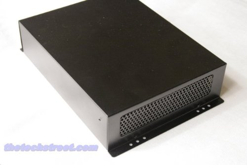 Slim Tiny Mini-itx Mitx Pc Car Chassis Case Compact Enclosure (Core Turion 2 Duo)