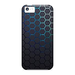 Tough Iphone IJDYKBi1953nBDCV Case Cover/ Case For Iphone 5c(grid Hexagon Background)