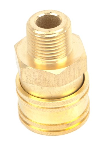 Forney 75128 Pressure Washer Accessories, Quick Coupler Male