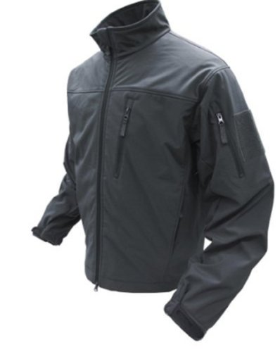 Condor Phantom Soft Shell Jacket (Black, XX-Large)