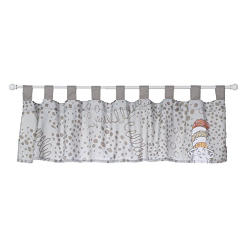 Classic Lined Hat - Trend Lab Dr. Seuss Peek-a-Boo Cat in the Hat Window Valance, Multi