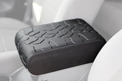 2007-2010 Jeep Wrangler (JK) Tire Tread ArmPad - Center Console Cover - Armrest Cushion