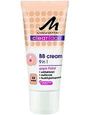 Manhattan Clearface BB Cream 03, 1-pack (1 x 25 ml)