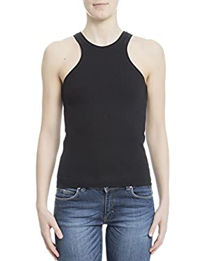 Theory Women's H0127503001 Black Polyamide Tank Top
