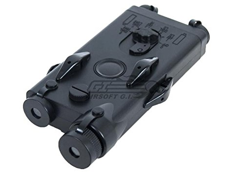 D-Boys Tactical PEQ 2 Style Battery Case Box w/ RIS Mount (Peq Box)