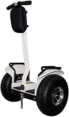 eco-glide Smart Self Balance Scooter Personal Transporter 19 inch All Terrain Tires White