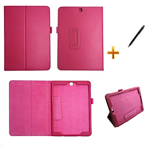 Capa Case Galaxy Tab S2-9.7´ T810/T815 Carteira/Caneta Touch (Pink)