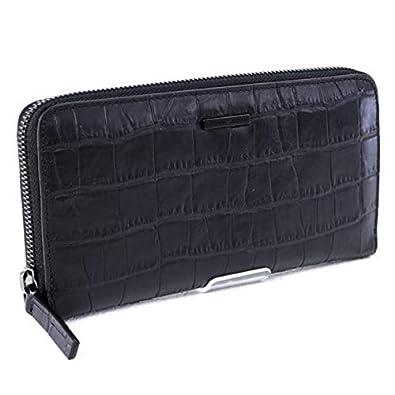 ba0ba7b36a3a [エンポリオアルマーニ] EMPORIO ARMANI 財布 長財布 ブラック (YEME49 YMB7V 80001 BLACK)
