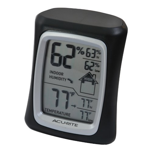AcuRite 00325 Home Comfort Monitor, Black