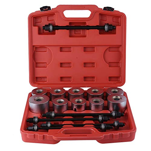 Florenceenid 27pcs Universal Car Pull Sleeve Kit Bush Bearing Removal Installation Tools by Florenceenid (Image #9)