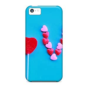 Ideal SKTrahan Case Cover For Iphone 5c(love), Protective Stylish Case