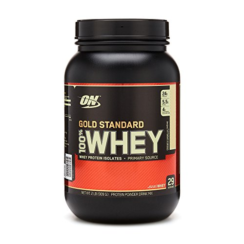 Optimum Nutrition 100 Whey Protein Gold Standard French Vanilla Creme 2 lbs.