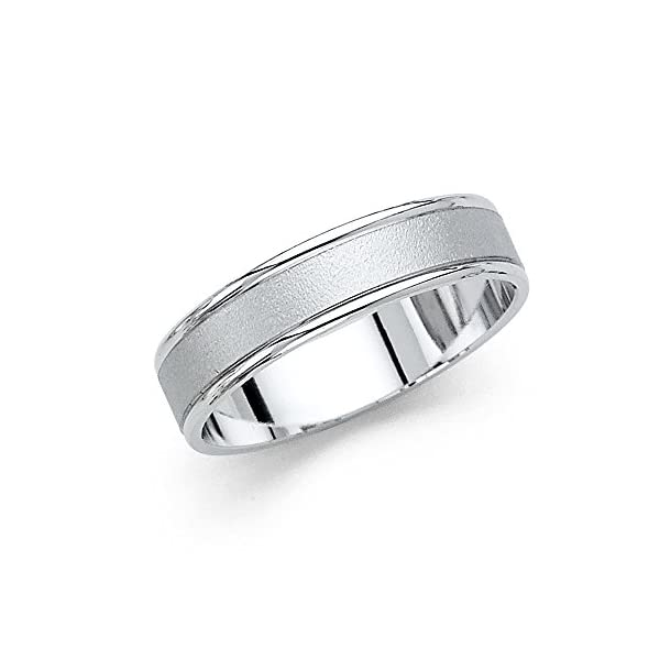 14k-White-Gold-5mm-COMFORT-FIT-Wedding-Band