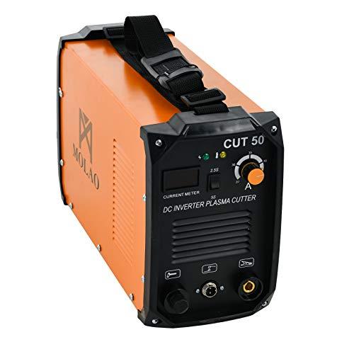 "SUNCOO Cut-50 Plasma Cutter Electric DC Inverter Machine with Digital Display Dual Voltage 110/220V, 1/2"" Clean Cut from SUNCOO"