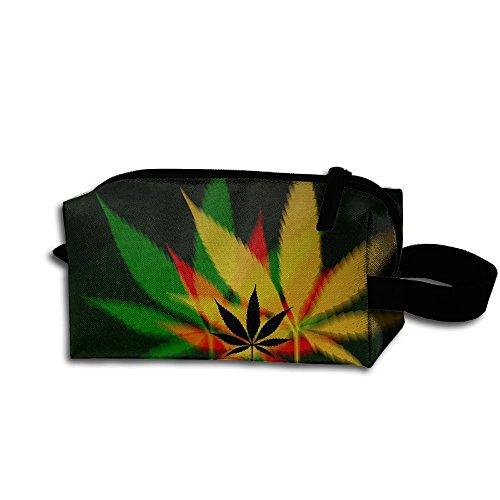 Deviantart Weed Portable Storage Pouch Bag Handbag
