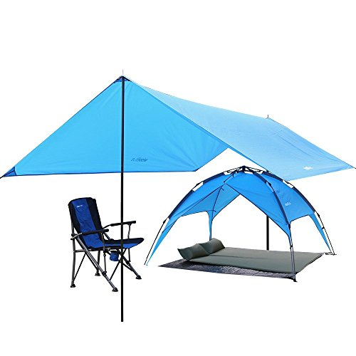 Portable Sun Shade Canopy : Kany lightweight water resistant sun shelter tarp portable