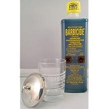 Barbicide 16fl.oz Solution and Manicure Table Jar by Barbicide