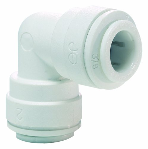 John Guest Speedfit PP0312W 3/8OD Union Elbow, 10-Pack Acetal Union Elbow