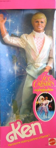 (Barbie Ice Capades KEN Doll 50th Anniversary (1989))
